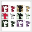 cross stitch pattern Fun With Plaid - Angel