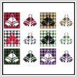 cross stitch pattern Fun With Plaid - Bells
