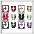 cross stitch pattern Fun With Plaid - Sweater