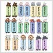 cross stitch pattern Critter (animal) Bookmarks Combo