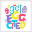 cross stitch pattern Get Egg Cited