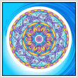 cross stitch pattern Mandala - Fish